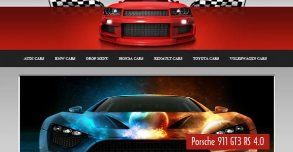 Шаблон Wordpress - Racing Driver