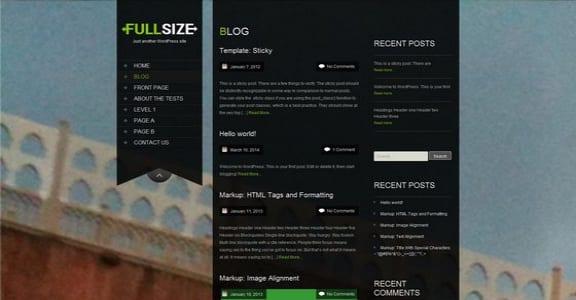 Шаблон Wordpress - SKT Full Width