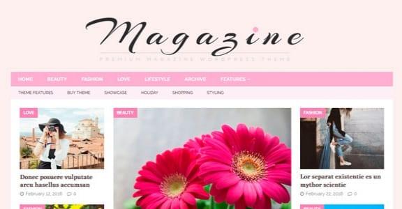 Шаблон Wordpress - MH FeminineMag