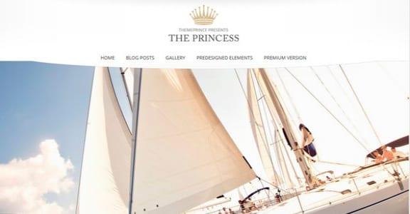 Шаблон Wordpress - Princess