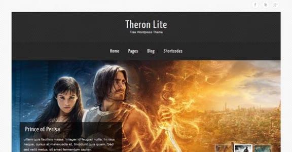 Шаблон Wordpress - Theron Lite