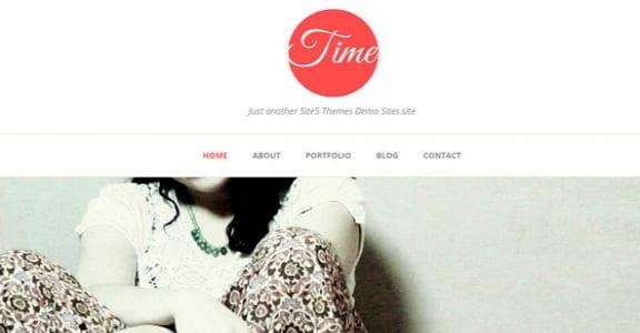 Шаблон Wordpress - Time