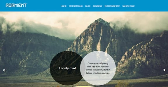 Шаблон Wordpress - Adament
