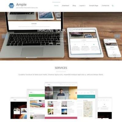 Шаблон WordPress - Ample