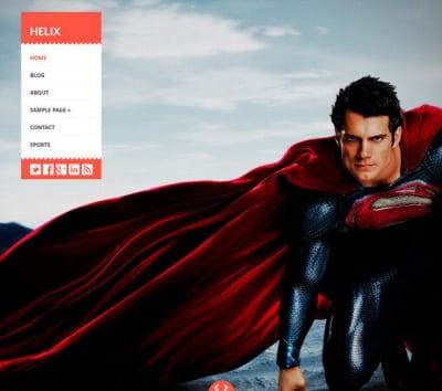 Шаблон WordPress - Helix