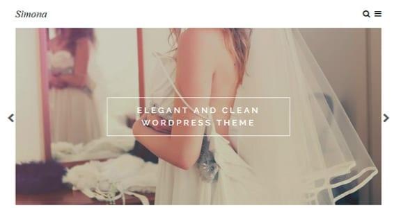 Шаблон Wordpress - Simona