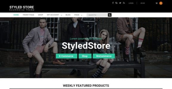 Шаблон Wordpress - Styled Store