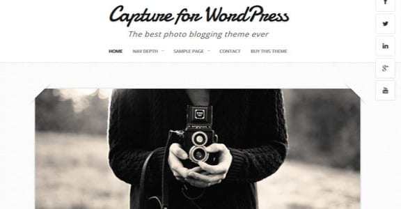 Шаблон Wordpress - Capture