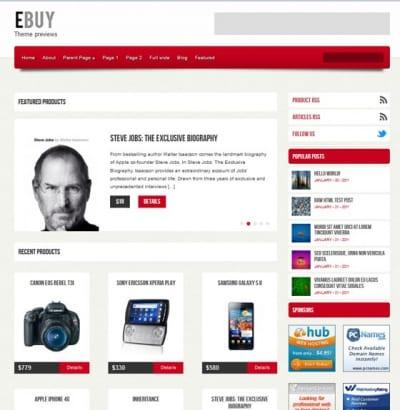 Шаблон WordPress - Ebuy