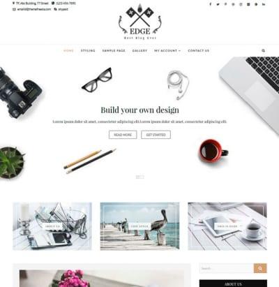 Шаблон WordPress - Edge