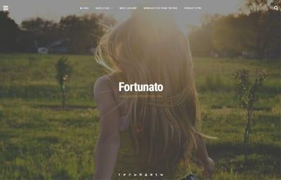 Шаблон WordPress - Fortunato