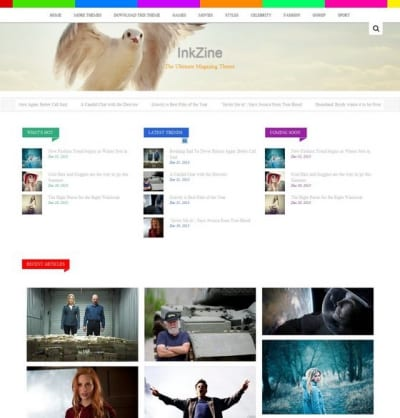Шаблон WordPress - Inkzine