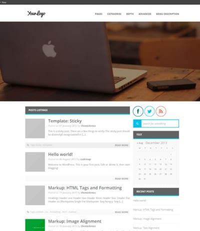 Шаблон WordPress - MiniMagazine