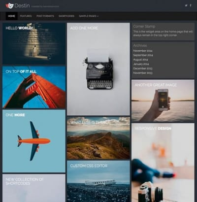 Шаблон WordPress - Destin Basic