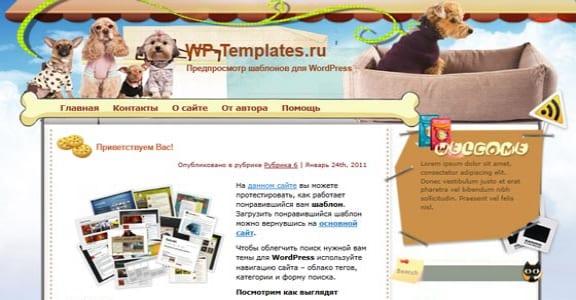 Шаблон Wordpress - Soul Partners