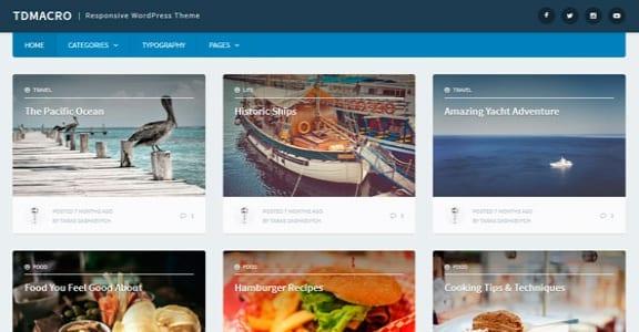 Шаблон Wordpress - tdMacro