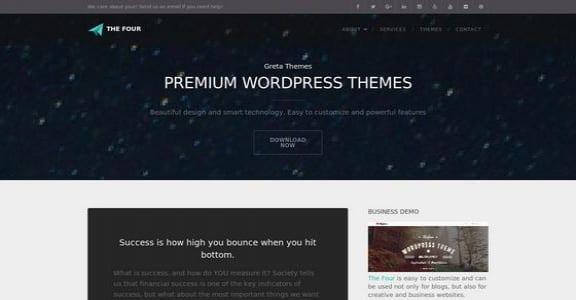 Шаблон Wordpress - TheFour Lite