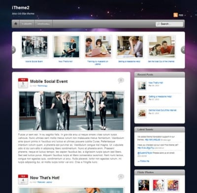 Шаблон WordPress - iTheme2