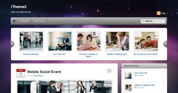 Шаблон Wordpress - iTheme2