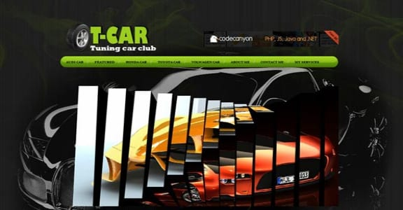 Шаблон Wordpress - T-Car