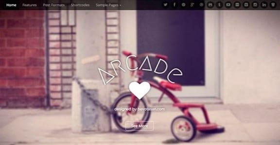Шаблон Wordpress - Arcade Basic