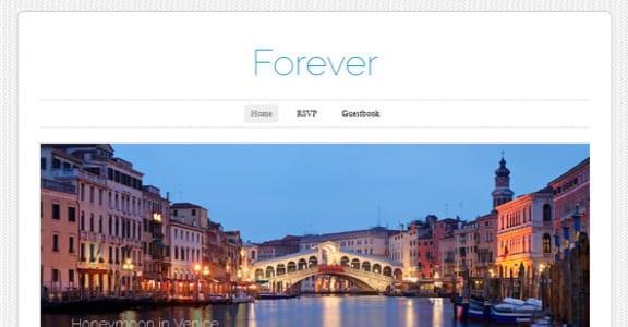 Шаблон Wordpress - Forever