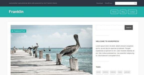 Шаблон Wordpress - Franklin