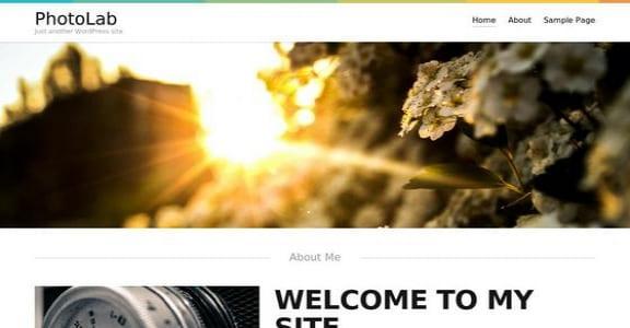 Шаблон Wordpress - Photolab