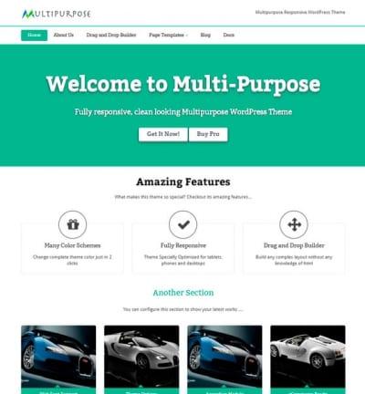 Шаблон WordPress - MultiPurpose