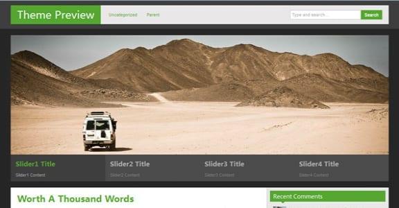 Шаблон Wordpress - zAlive