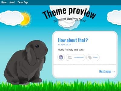 Шаблон WordPress - Bunny