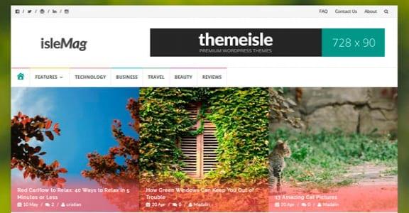 Шаблон Wordpress - IsleMag