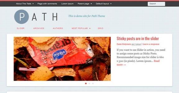 Шаблон Wordpress - Path