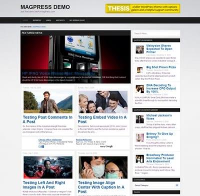 Шаблон WordPress - Zimex